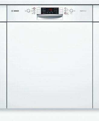 Bosch smi46mw03e - Super Silence Dishwasher 60 cm - can be Integrated - White