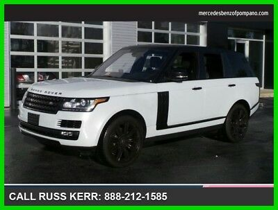 2016 Land Rover Range Rover Diesel HSE 2016 Diesel HSE Used Turbo 3L V6 24V Automatic Four Wheel Drive SUV