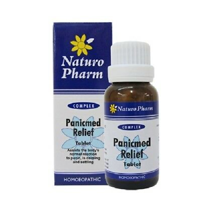 Naturo Pharm PanicMed Tablets - homeopathic