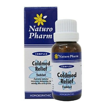 Naturo Pharm ColdMed Tablets - homeopathic