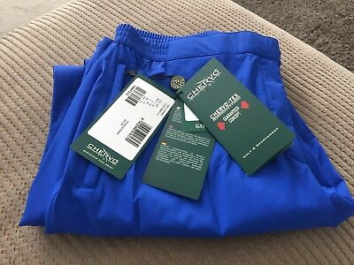 Chervo-Tex Ladies Weather Proof Golf Trousers, size 16, Royal Blue