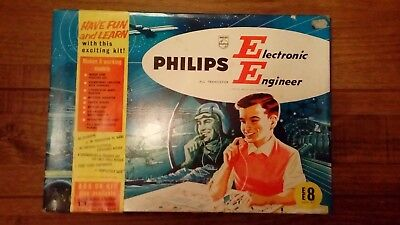 Philips Electronic Engineer EE8 Kit Complete and Tested - No parts missing !