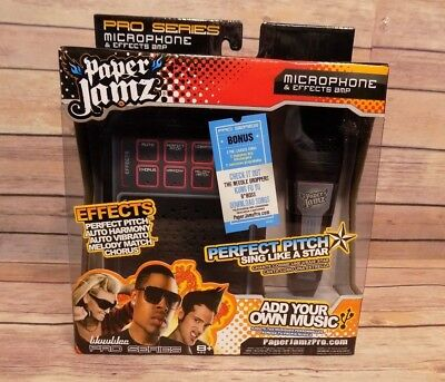WowWee Pro Paper Jamz Pro Series Microphone & Effects Amp NEW