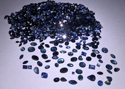 SAPPHIRE NATURAL Blue ct.50.00 Cut Mixed .Lot LOOSE DEAL AAA+