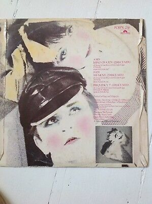 Visage Mind Of Toy / Frequency 7  VG electro blitz/garage classic