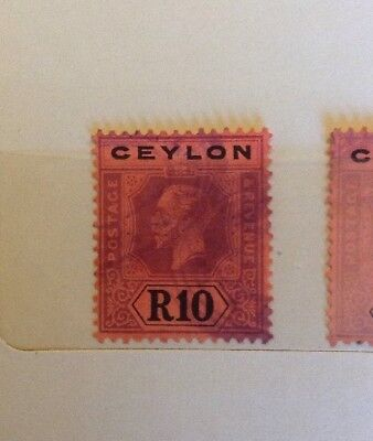 A Large Stamp Collection from Ceylon