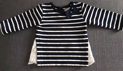 Baby Girl Top Long Sleeve Shirt T-shirt 0-3 Months