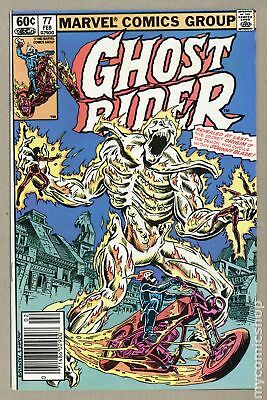 Ghost Rider (1973 1st Series) Mark Jewelers #77MJ VG+ 4.5 LOW GRADE