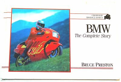 Bmw Motorcycles Book - The Complete Story Excellent Cond, Unmarked Pages