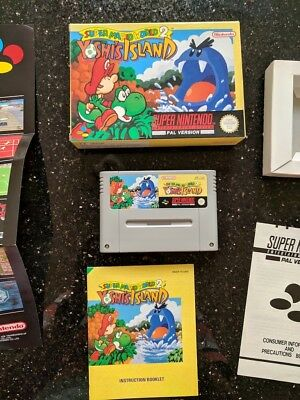 Super Mario World 2 - Yoshi's Island - Complete Boxed - Super Nintendo SNES PAL