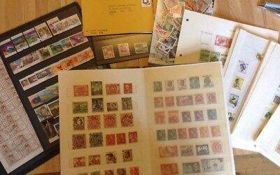 A Large Stamp Collection from Australia & Christmas Island