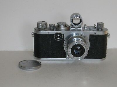 Leica If Camera - Black Dial