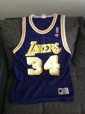 Los Angeles Lakers Trikot Jersey Champion NBA Shaquille O'Neal