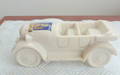 Shelley China Crested Ware Model Of An Open Tourer Crieff