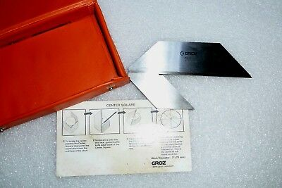 Groz 3 inch/75mm centre square/ centre finder