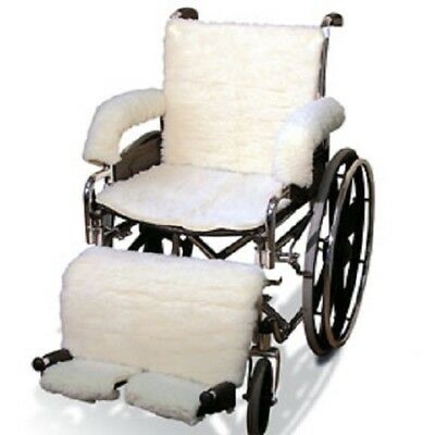 Sheepskin Wheelchair Cover Set