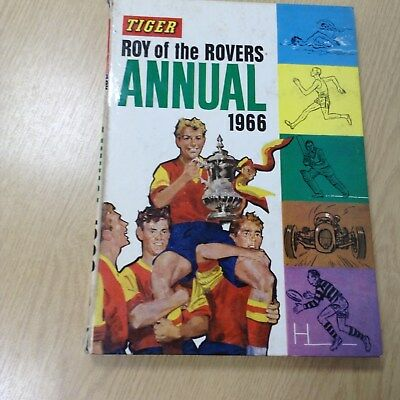 TIGER ROY OF THE ROVERS ANNUAL 1966, Good Condition Book, , ISBN