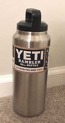 NEW YETI Rambler Stainless Steel Insulated 36 oz Bottle Coffee Tumbler Mug Cup