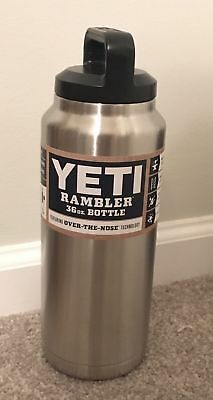NEW YETI Rambler Stainless Steel Insulated 36 oz Bottle Coffee Tumbler Mug Cup 1