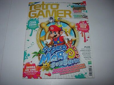 Retro Gamer Issue 173 : SUPER MARIO SUNSHINE / SIERRA / CHUCK ROCK / LASER SQUAD