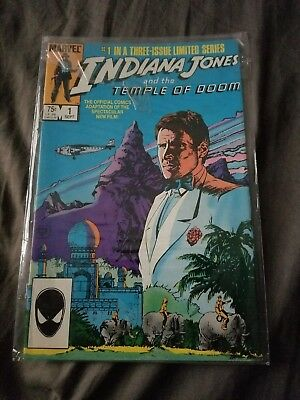 Indiana Jones and the Temple of Doom #1 (Sep 1984, Marvel)