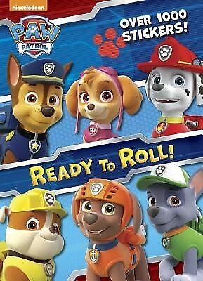 Ready to Roll! (Paw Patrol) by Golden Books 9780553507959 -Paperback