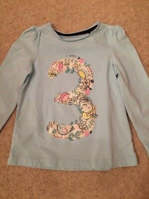 Girls Long Sleeved Top Age 3