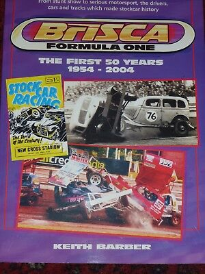 BriSCA Formula One First 50 years 1954-2004 Keith Barber Scarce Stock Car Racing
