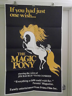 THE MAGIC PONY ONE 1 SHEET MOVIE POSTER from PRIMA FILMS INC. ORIGINAL