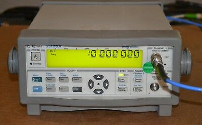 Agilent Keysight 53150A Microwave Frequency Counter 10hz-20GHZ Great Shape, GOOD