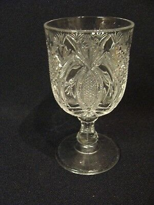 EAPG  McKee Glass Co's  Hickman Goblet