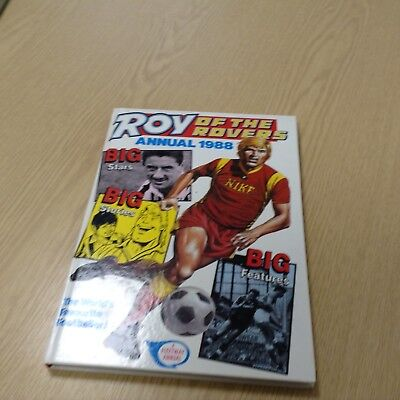 Roy Of The Rovers Annual 1988
