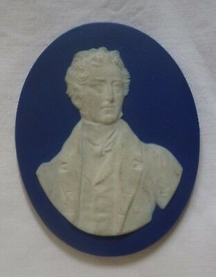 Early 19TH C Museum Thomas WEDGWOOD Sir Humphry Davy PORTRAIT PLAQUE MEDALLION