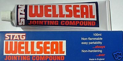Stag Wellseal Gasket Jointing Compound 100ml  The Best for Norton Motorcycles