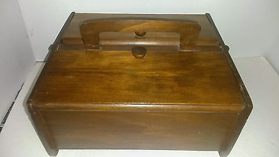 Antique/vintage wooden box