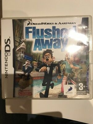 Flushed Away (Nintendo Ds Game ) With Manual