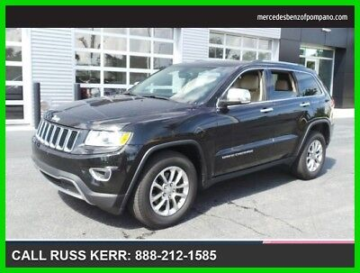 2014 Jeep Grand Cherokee Limited 2014 Limited Used 3.6L V6 24V Automatic Rear Wheel Drive SUV Premium