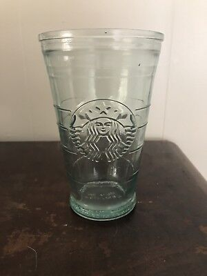 Starbucks Recycled Glass Tumbler Cold Cup 20 oz Made In Spain