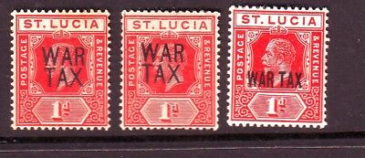 St Lucia War Tax Selection M/m