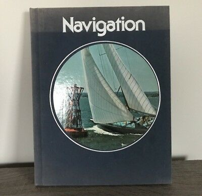 Navigation The Time-Life Library of Boating 1975 Vintage Hardcover 5th Printing