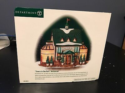 Dept 56 Christmas In The City Tavern In The Park #56.58928