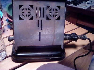 Vintage westinghouse turnover toaster