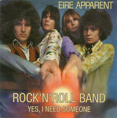 """EIRE APPARENT - Rock'n'roll band - 7"""" 1999 (1969) - ristampa"""