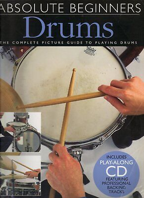 Absolute Beginners Drums Learn How to Play Book +CD