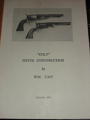 Colt pistol Construction William Tait 1860 Navy Army Percussion Revolver .44