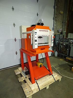 Hydraulic C-Frame 4 Post 20 Ton Press Sharp