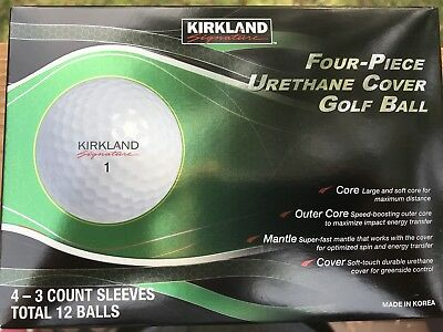 kirkland signature 4 piece urethane golf balls costco. Black Bedroom Furniture Sets. Home Design Ideas