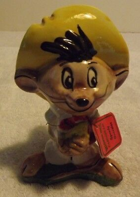 Vintage Carosello Decanter Warner Brothers Speedy Gonzales, Made In Italy