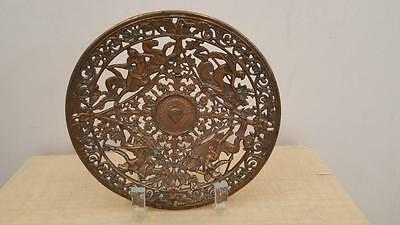 Antique Yale & Towne Y & T Mfg. Stamford Ct Bronze Calling Card Tray os