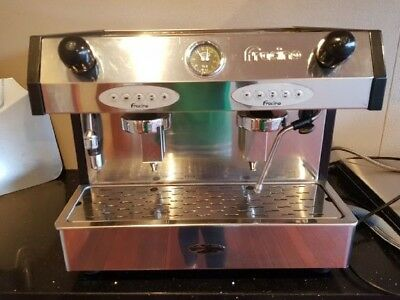 Pre Owned 2 Group High Cup 15amp Commercial Fracino Coffee Machine